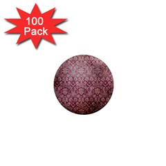Vintage Wallpaper 1  Mini Button Magnet (100 pack)