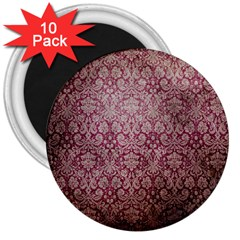 Vintage Wallpaper 3  Button Magnet (10 pack)
