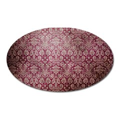 Vintage Wallpaper Magnet (Oval)