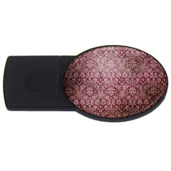 Vintage Wallpaper 2GB USB Flash Drive (Oval)