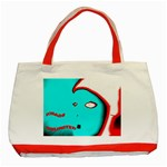 KHAOSFACE6 Classic Tote Bag (Red) Front