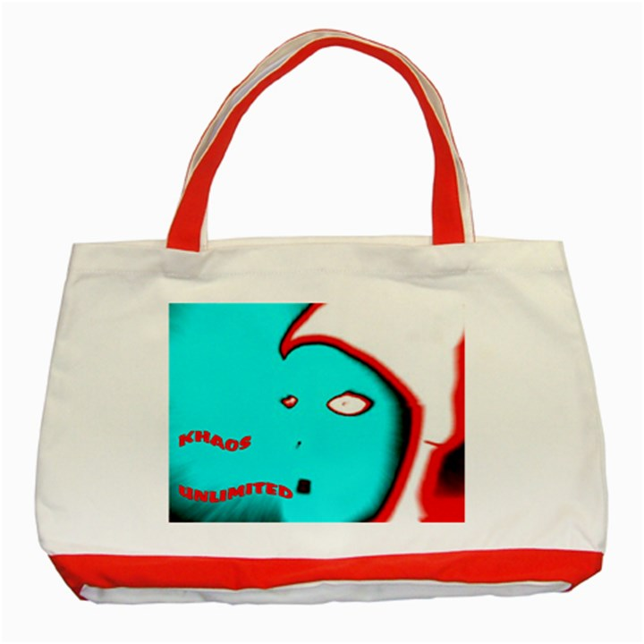 KHAOSFACE6 Classic Tote Bag (Red)