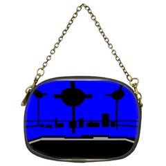 City Scope Chain Purse (Two Side)