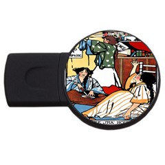 Wee Sma  Hours By Sadie Wendell Mitchell 1909 1GB USB Flash Drive (Round)