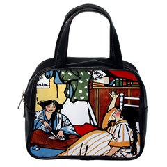 Wee Sma  Hours By Sadie Wendell Mitchell 1909 Classic Handbag (One Side)