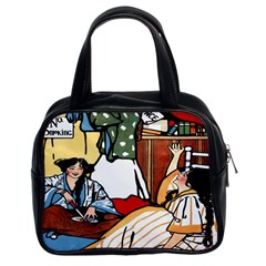 Wee Sma  Hours By Sadie Wendell Mitchell 1909 Classic Handbag (Two Sides)