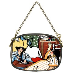 Wee Sma  Hours By Sadie Wendell Mitchell 1909 Chain Purse (Two Side)