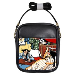 Wee Sma  Hours By Sadie Wendell Mitchell 1909 Girl s Sling Bag