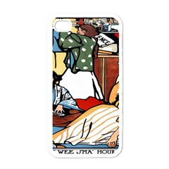 Wee Sma  Hours By Sadie Wendell Mitchell 1909 Apple iPhone 4 Case (White)