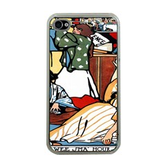 Wee Sma  Hours By Sadie Wendell Mitchell 1909 Apple iPhone 4 Case (Clear)