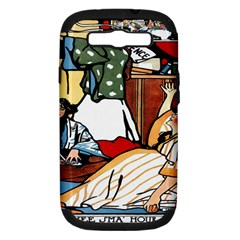 Wee Sma  Hours By Sadie Wendell Mitchell 1909 Samsung Galaxy S III Hardshell Case (PC+Silicone)