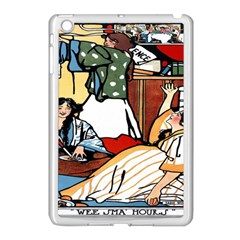 Wee Sma  Hours By Sadie Wendell Mitchell 1909 Apple iPad Mini Case (White)