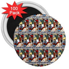 Wee Sma  Hours By Sadie Wendell Mitchell 1909 3  Button Magnet (100 pack)