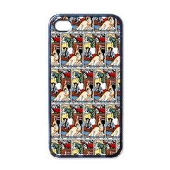 Wee Sma  Hours By Sadie Wendell Mitchell 1909 Apple iPhone 4 Case (Black)
