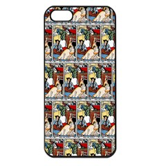 Wee Sma  Hours By Sadie Wendell Mitchell 1909 Apple iPhone 5 Seamless Case (Black)