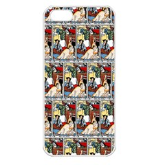 Wee Sma  Hours By Sadie Wendell Mitchell 1909 Apple iPhone 5 Seamless Case (White)