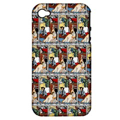 Wee Sma  Hours By Sadie Wendell Mitchell 1909 Apple iPhone 4/4S Hardshell Case (PC+Silicone)