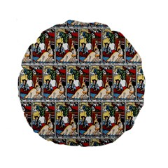Wee Sma  Hours By Sadie Wendell Mitchell 1909 15  Premium Round Cushion