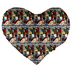 Wee Sma  Hours By Sadie Wendell Mitchell 1909 19  Premium Heart Shape Cushion