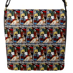 Wee Sma  Hours By Sadie Wendell Mitchell 1909 Flap closure messenger bag (Small)