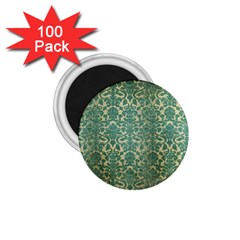 Vintage Wallpaper 1.75  Button Magnet (100 pack)