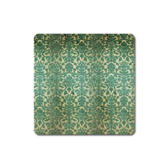 Vintage Wallpaper Magnet (Square)