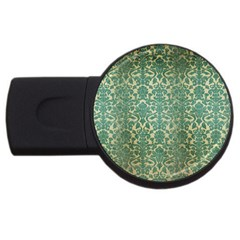Vintage Wallpaper 4GB USB Flash Drive (Round)