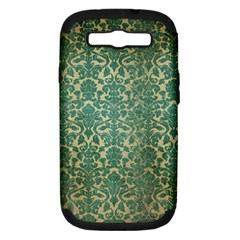 Vintage Wallpaper Samsung Galaxy S III Hardshell Case (PC+Silicone)