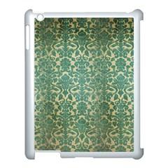 Vintage Wallpaper Apple iPad 3/4 Case (White)
