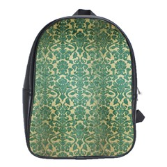 Vintage Wallpaper School Bag (XL)