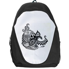 Petal Doodle Backpack Bag