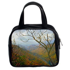 Way Above The Mountains Classic Handbag (two Sides)