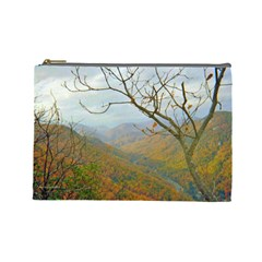 Way Above The Mountains Cosmetic Bag (Large)