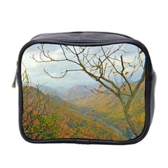 Way Above The Mountains Mini Travel Toiletry Bag (two Sides)