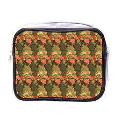 Still Life Vase With Rose Mallows By Vincent Van Gogh 1890  Mini Travel Toiletry Bag (One Side)