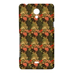 Still Life Vase With Rose Mallows By Vincent Van Gogh 1890  Sony Xperia T Hardshell Case