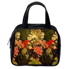 Still Life Vase With Rose Mallows By Vincent Van Gogh 1890  Classic Handbag (One Side)