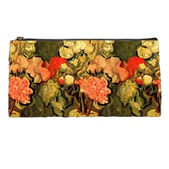 Still Life Vase With Rose Mallows By Vincent Van Gogh 1890  Pencil Case