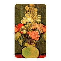 Still Life Vase With Rose Mallows By Vincent Van Gogh 1890  Memory Card Reader (Rectangular)