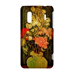 Still Life Vase With Rose Mallows By Vincent Van Gogh 1890  HTC Evo Design 4G/ Hero S Hardshell Case