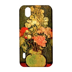 Still Life Vase With Rose Mallows By Vincent Van Gogh 1890  LG Optimus P970 Hardshell Case