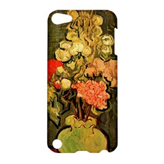 Still Life Vase With Rose Mallows By Vincent Van Gogh 1890  Apple iPod Touch 5 Hardshell Case