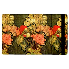 Still Life Vase With Rose Mallows By Vincent Van Gogh 1890  Apple iPad 3/4 Flip Case