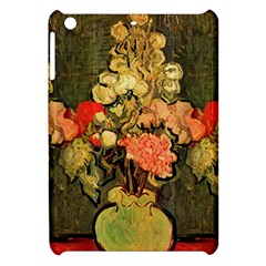 Still Life Vase With Rose Mallows By Vincent Van Gogh 1890  Apple iPad Mini Hardshell Case