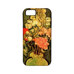 Still Life Vase With Rose Mallows By Vincent Van Gogh 1890  Apple iPhone 5 Classic Hardshell Case (PC+Silicone)