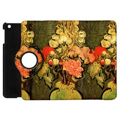 Still Life Vase With Rose Mallows By Vincent Van Gogh 1890  Apple iPad Mini Flip 360 Case