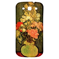 Still Life Vase With Rose Mallows By Vincent Van Gogh 1890  Samsung Galaxy S3 S III Classic Hardshell Back Case