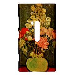 Still Life Vase With Rose Mallows By Vincent Van Gogh 1890  Nokia Lumia 920 Hardshell Case