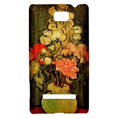 Still Life Vase With Rose Mallows By Vincent Van Gogh 1890  HTC 8S Hardshell Case
