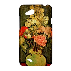 Still Life Vase With Rose Mallows By Vincent Van Gogh 1890  HTC T328D (Desire VC) Hardshell Case